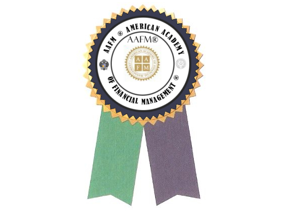 AAFM Ribbon Gold Medal