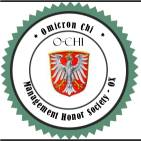 Omicron Chi Honor Society for Scholars and Leadership Management